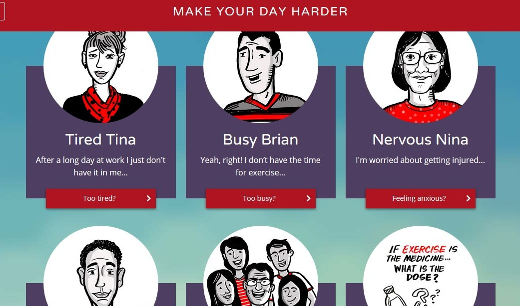 Make Your Day Harder: The Website